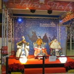 Visita de Reyes Magos en centro comercial