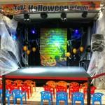 Fiesta de Halloween en centro comercial