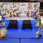 Fiesta temática en centro comercial