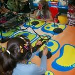 Talleres infantiles en centro comercial