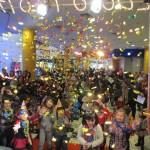 Fiestas y ambientación en centros comerciales