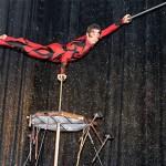 Espectáculo acrobático