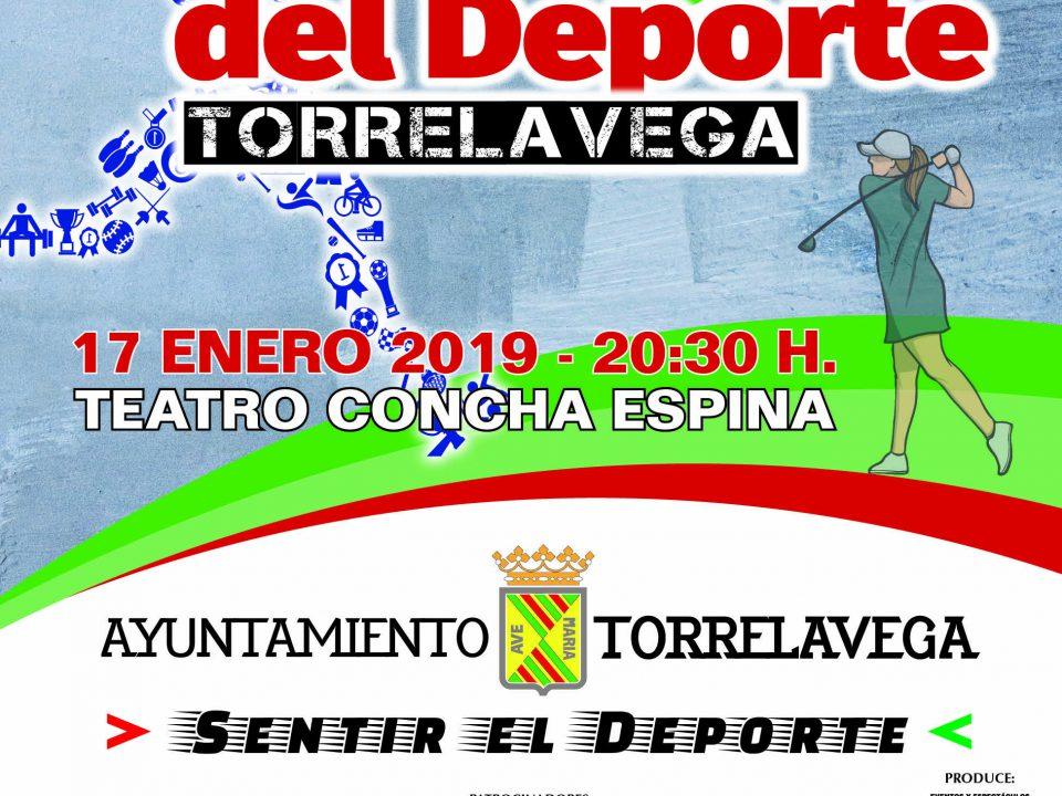 Cartel Gala del Deporte de Torrelavega 2019