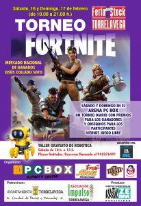 Torneo Fortnite Torrelavega - Feria del Stock