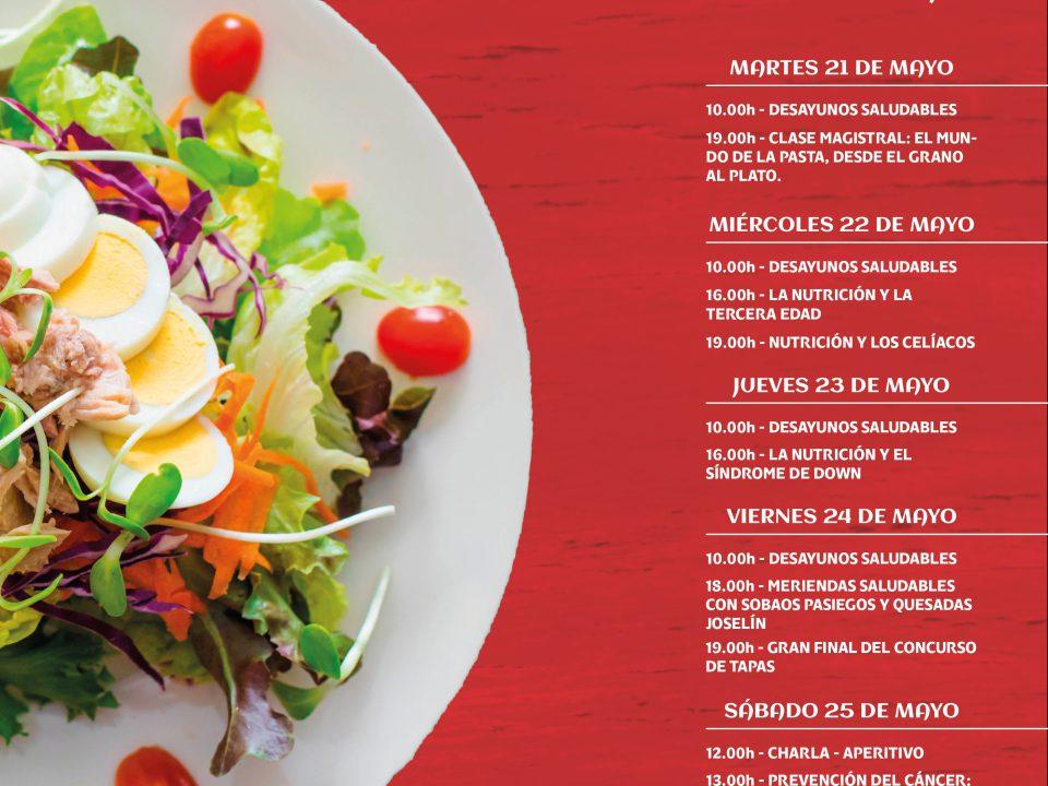 Agenda Semana de la Nutrición de Burgos